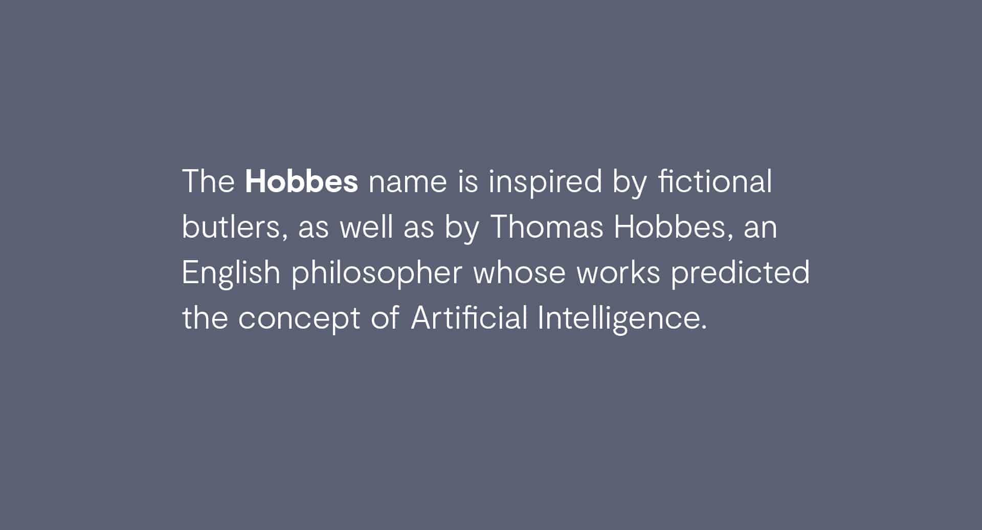 Hobbes | Mekanic
