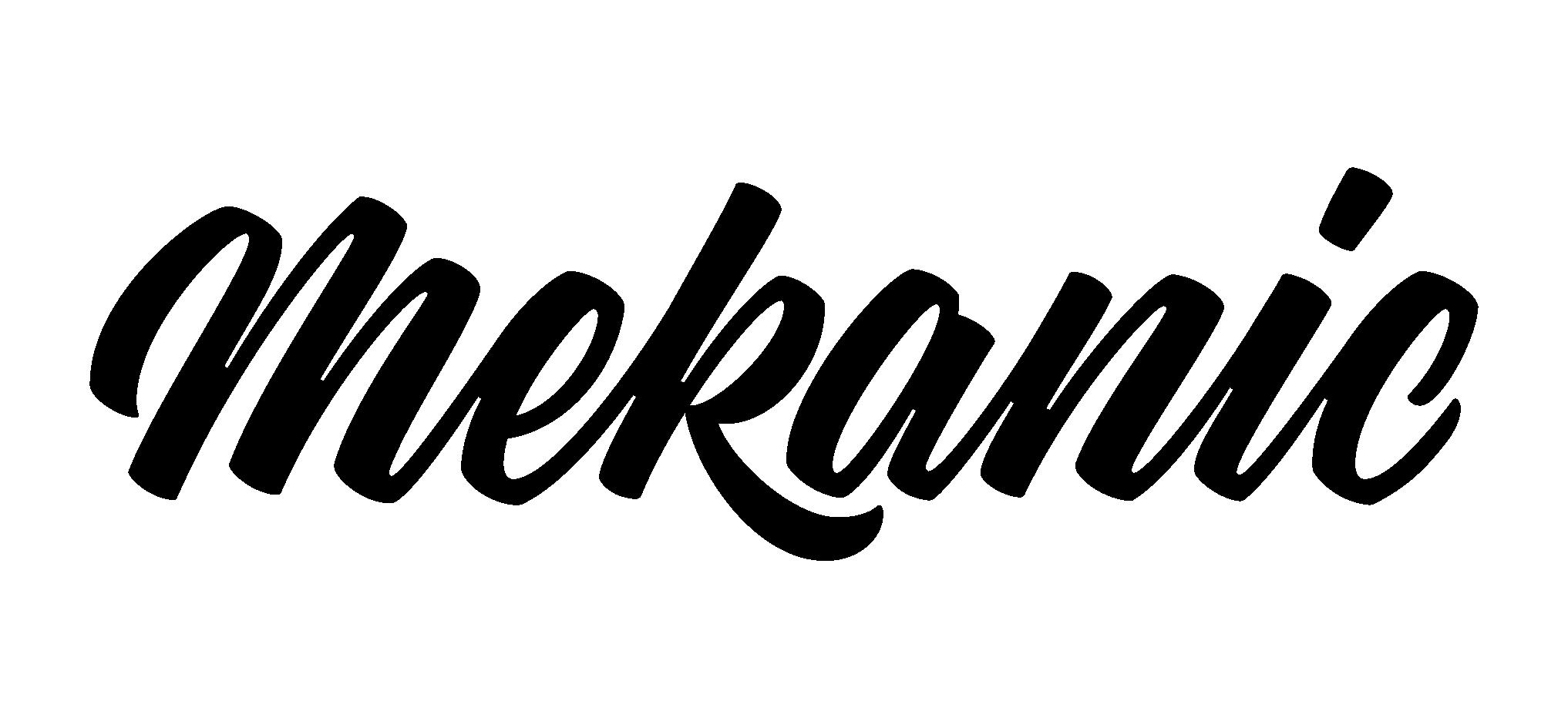 Mekanic branding and advertising agency Logo